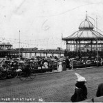 Card 1 circa 1905 shows the Pavilion.