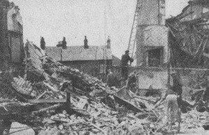 Godfrey Row was bombed on 18 August 1940