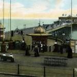 circa 1910 shows a very tidy pier
