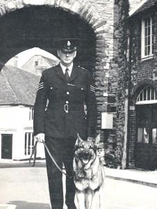 Police Dog on Patrol 1966