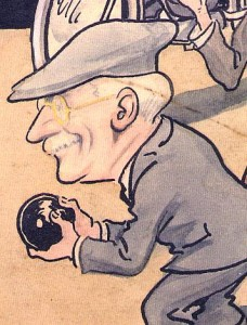 Joe Cooper cartoon by Baldwin