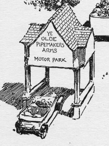 Pipemakers Arms Motor Park Entrance