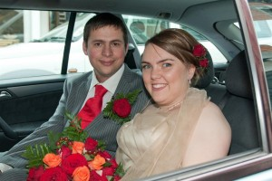 The wedding of Crystal Wilson and Wayne Parker