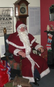 Father Christmas at Rye Museum