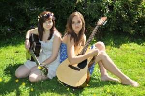 Rye's very own dynamic duo GEMM (Giorgia Moran and Eleanor Mason).