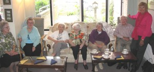 Residents and guests enjoy Devenport House 30 year anniversary