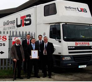 Bournes Removals 130 Years 'On The Move'