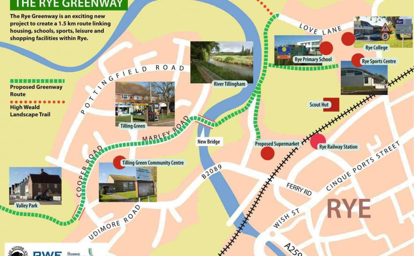 Rye Greenway Plan Launched
