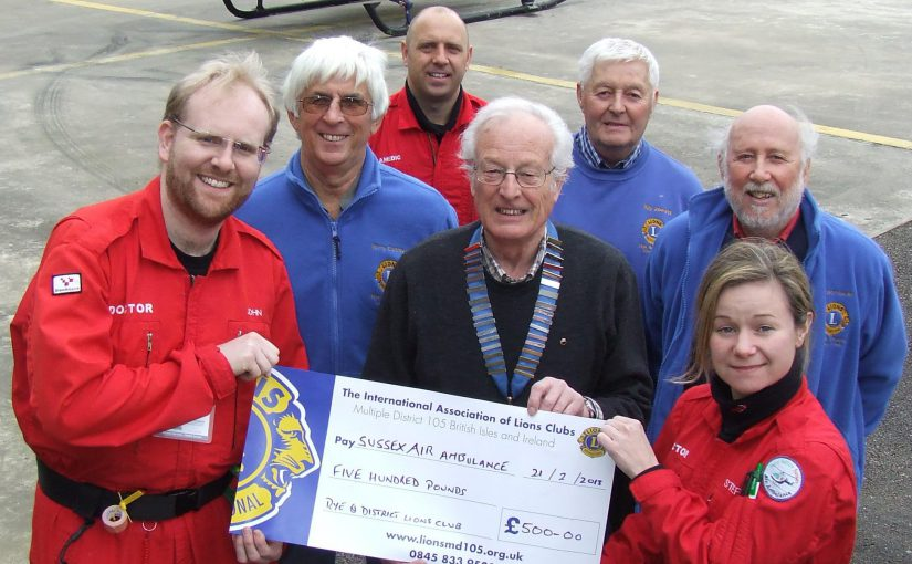 Lions Aid Air Ambulance