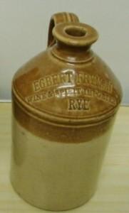 Egbert Fryman Wines & Spirits Imprters Rye