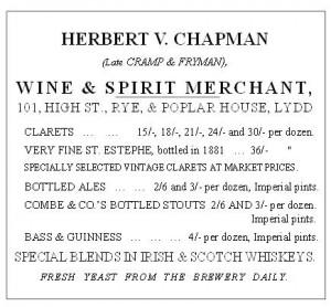 Herbert V. Chapman