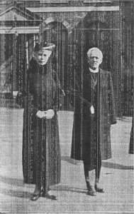Queen Mary with the Vicar of Rye John Fowler