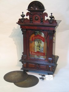 Coin operated 'Symphonion' circa 1900. Built to be used in any location where large numbers of people would gath