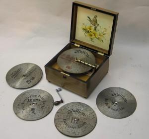 Disc Musical Box by 'Kalliope'