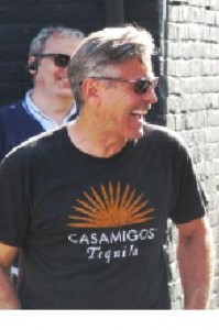 George Clooney in Rye East Sussex