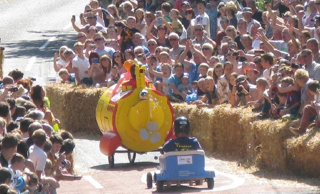 Soap Box Fun at Aldington