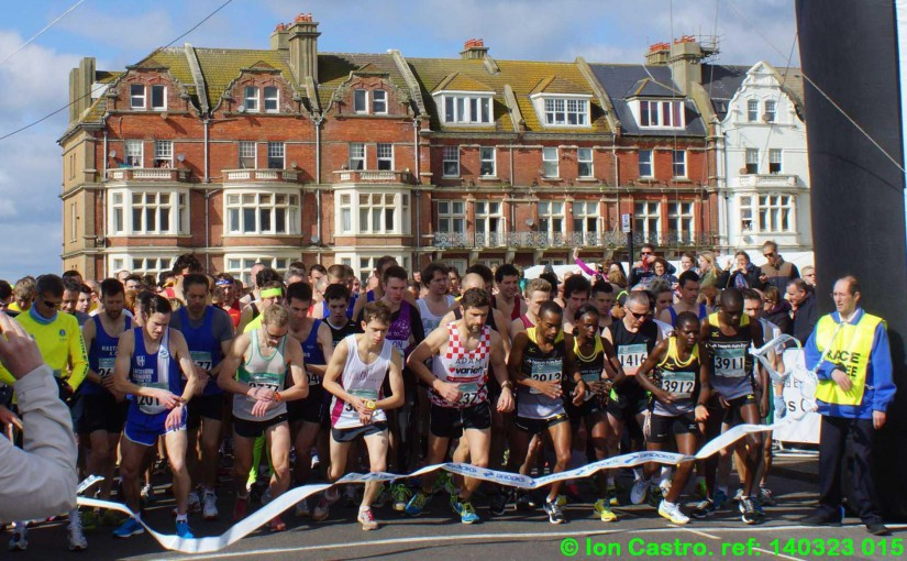 Rye,Hythe & Romney Runners Well Represented in 30th. Hastings' Half Marathon