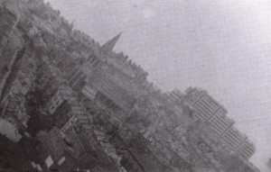 The devastation inflicted upon the town was incomparable, with 38