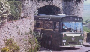 M&D UKE 403. Going through Winchelsea Arch on the 113 Route to Hastings from Rye