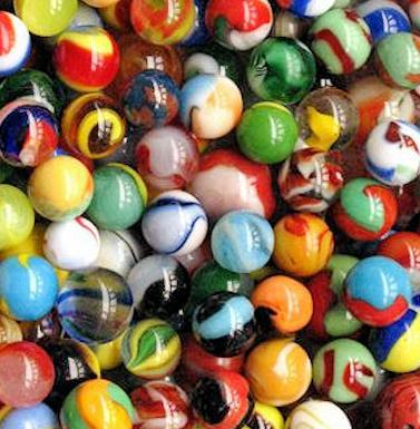 Marbles Match and Easter Bonnet Parade, Abbey Green, Battle, Sussex