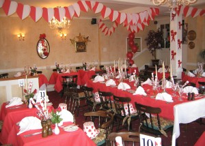 Dining Room set for Valentines