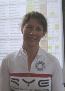 Rebecca Wilson ESCA 100 Champion