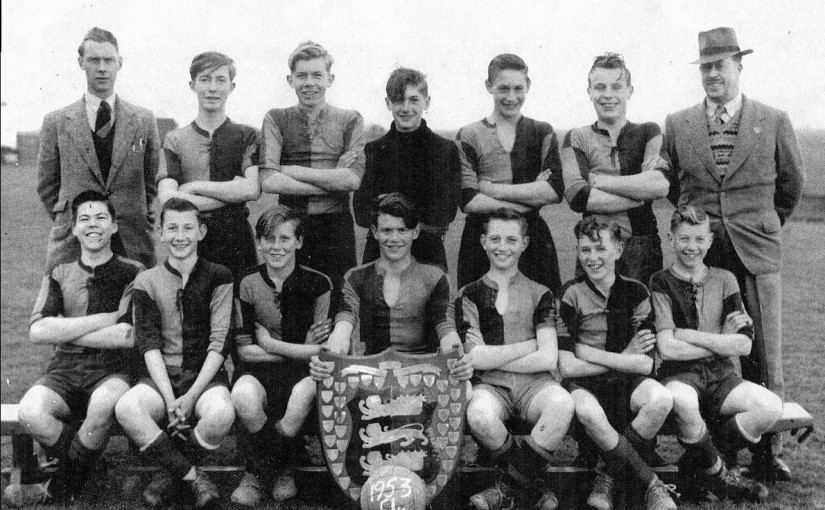 Rye Secondary School Soccer Team 1954