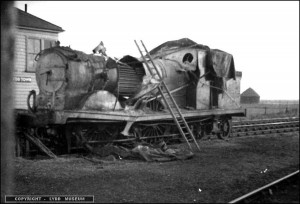 The Engine that Brought Down a German Bomber