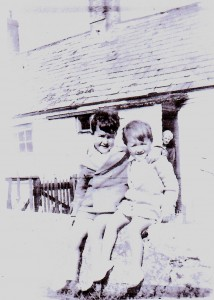 Young Barry with his Sister