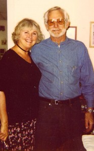 A recent picture with husband Chuck