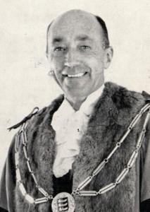 Councillor Alfred Horner, Mayor of Rye