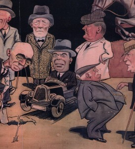 Baldwin Cartoons depicting Rye prewar Characters.