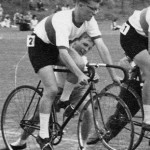 Bernard Clark Racing Cyclist 1963