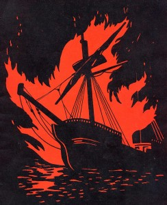 Burning Boat Emblem
