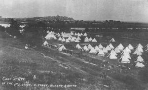 Camp at Rye