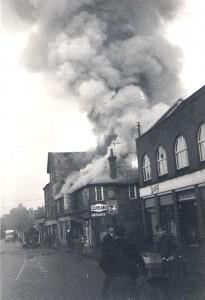 Central Garage Fire