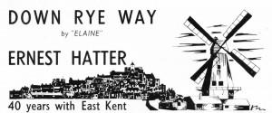 Down Rye Way   Ernest Hatter