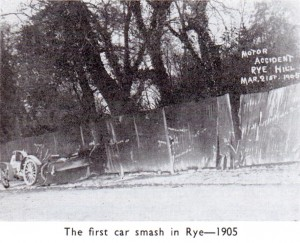 First Car Crash in Rye