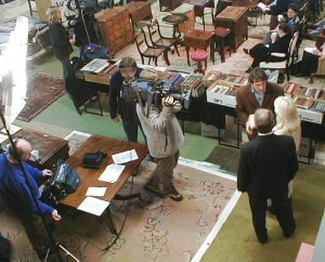 Flogit Filming at Rye Auction Galleries
