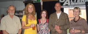 George Hemmings, Kaddy Lee-Prestom, The Mayor & Mayoress of Rye
