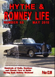 """Cover of """"Hythe & Romney Life"""" Features the Madonna Car"""