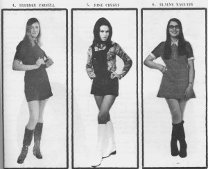 Miss Ryes Own 1971 entrants 4-5-6