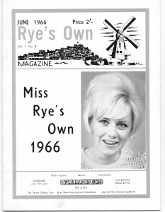Miss Rye's Own Cover 1966