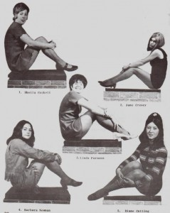 Miss Rye's Own Finalists 1970