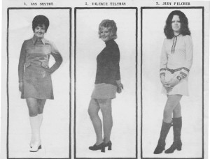 Miss Ryes Own Heat 1971 entrants 1-2-3