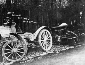Motor Accident Rye Hill 1905