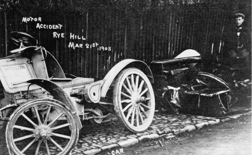 Fatal Car Crash 1905