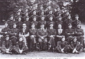 Peter Mitchell with 2274 Rye Squadron ATC