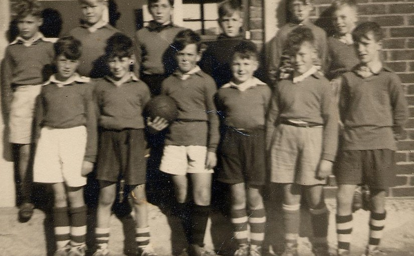 Rye Primary Football Team 1956