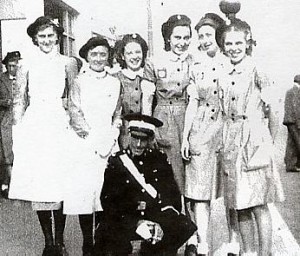 Girls of theRye St John Ambulance Brigade